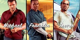 les personnages de GTA V