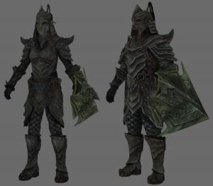 armure orc skyrim